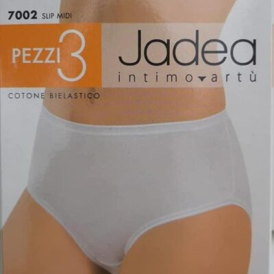 Slip midi Jadea cotone bielastico 3 pz